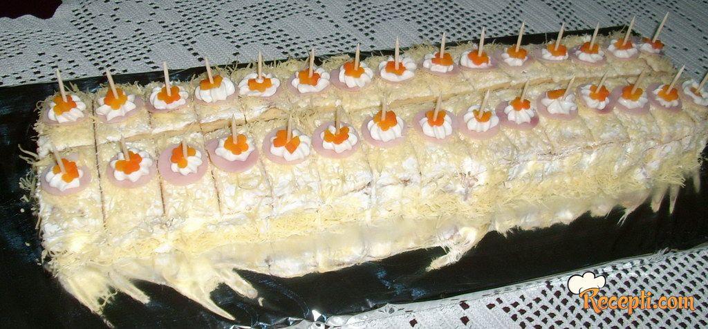 Jacina slana torta