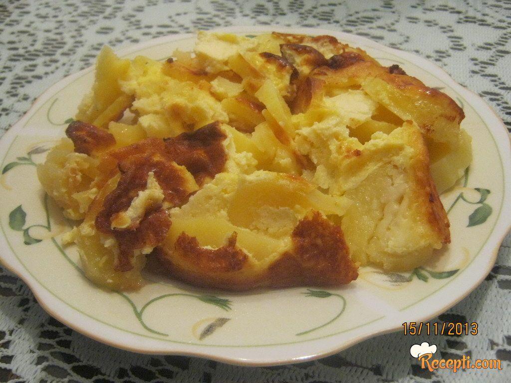 Krompir sa kačkavaljem (2)