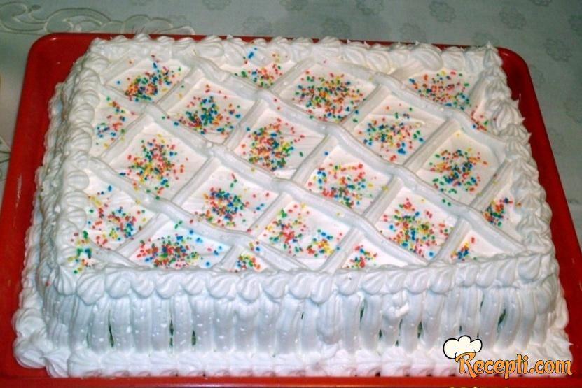 Milka torta bez kora