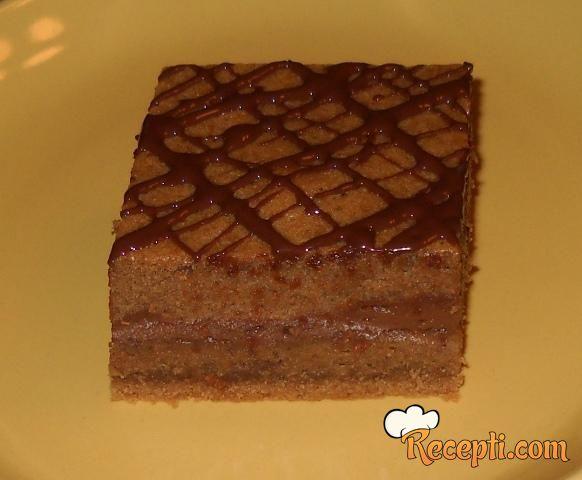 Turski kolač sa kafom i čokoladom