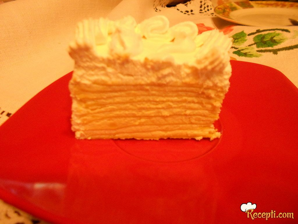 Posna torta Beli andjeo