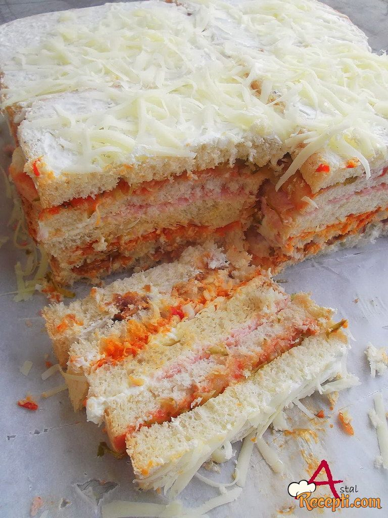 Slana Tost Torta