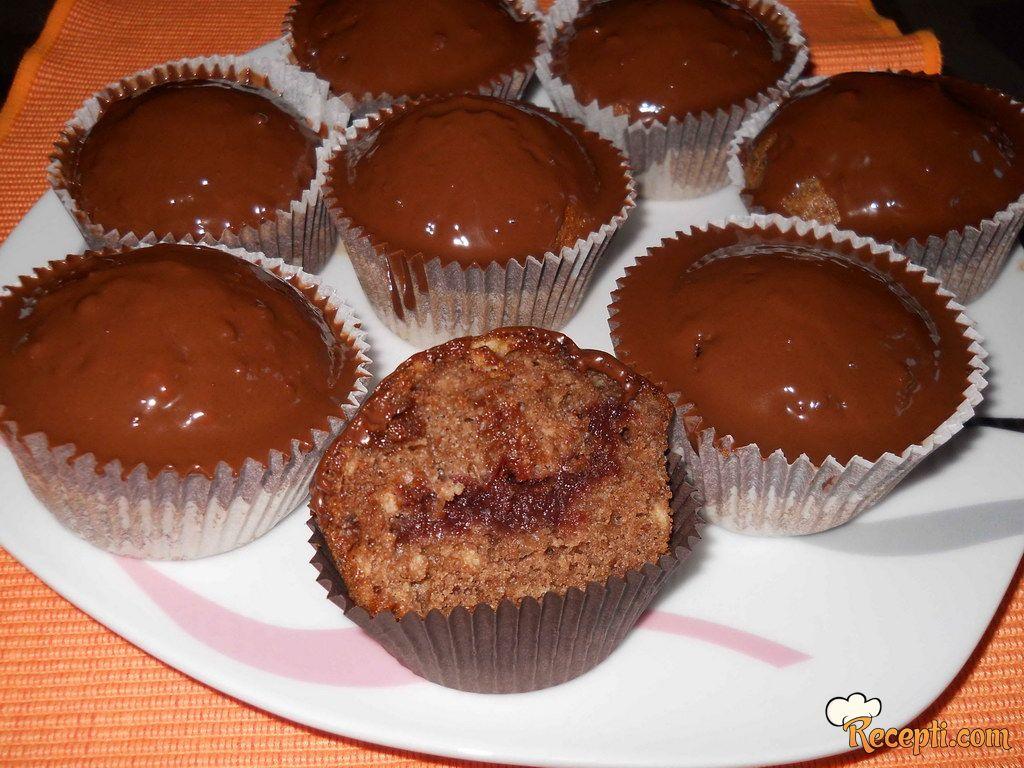 Muffin medeno srce