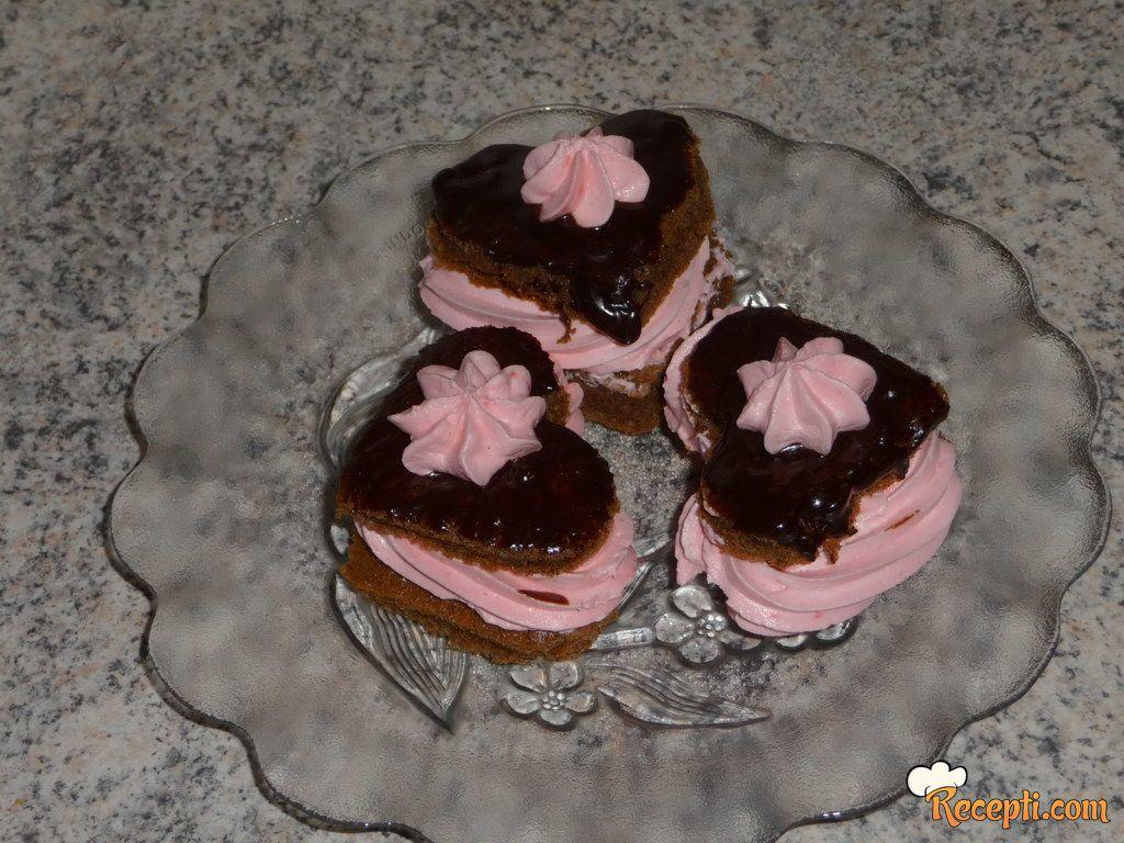 Srce kolačići za dan zaljubljenih