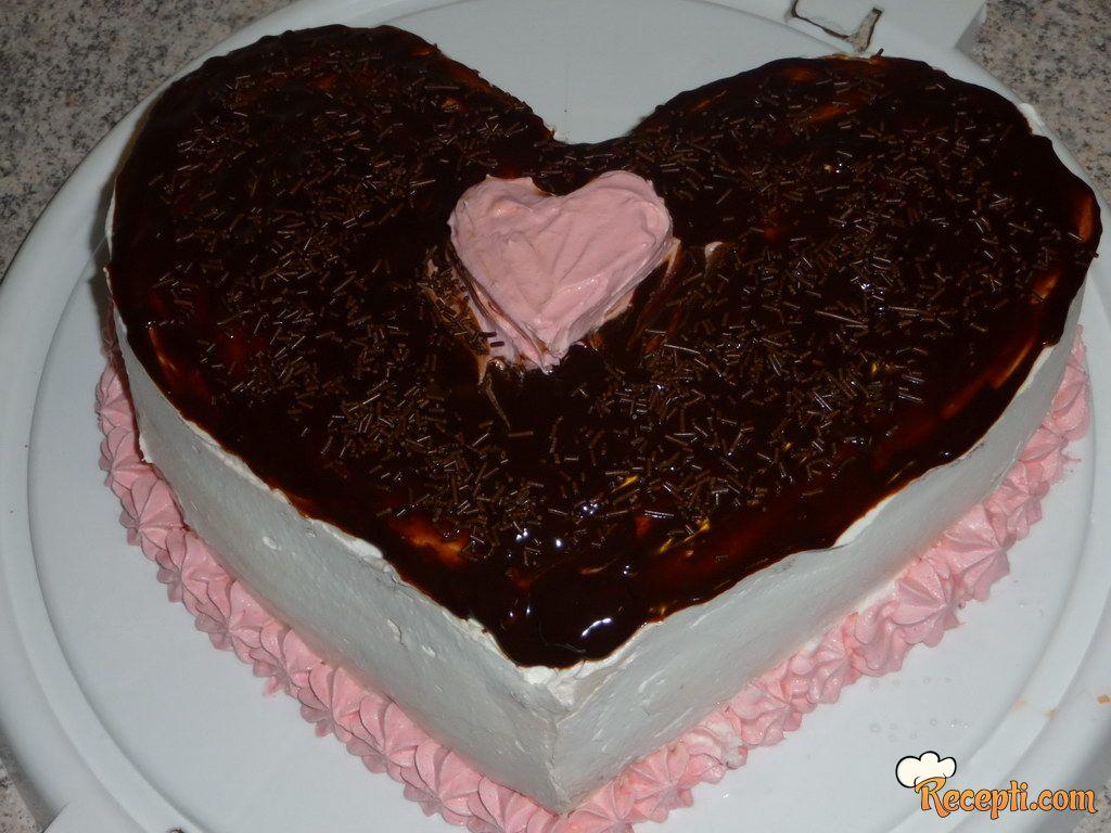 Brza tortica za dan zaljubljenih