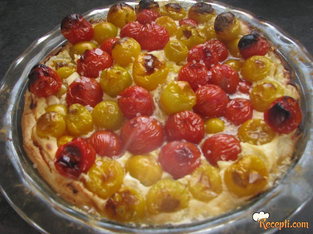Mon Čeri paradajz pita