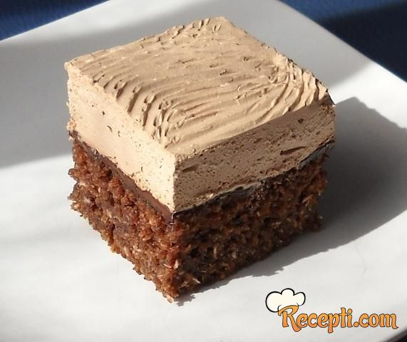 Coconut-Nutella Cake