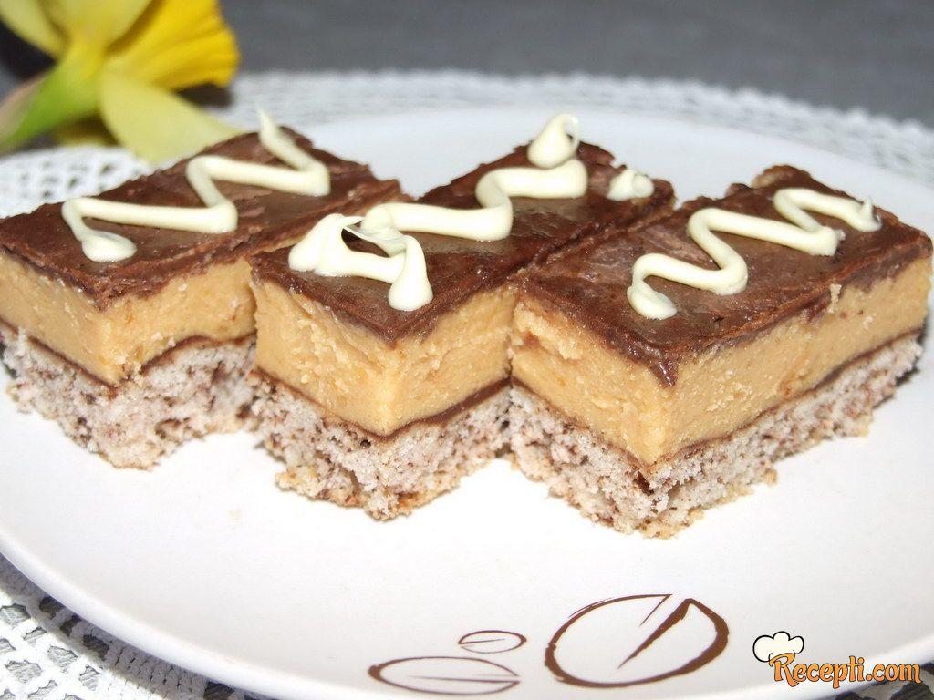 Čokoladno-karamel kolač