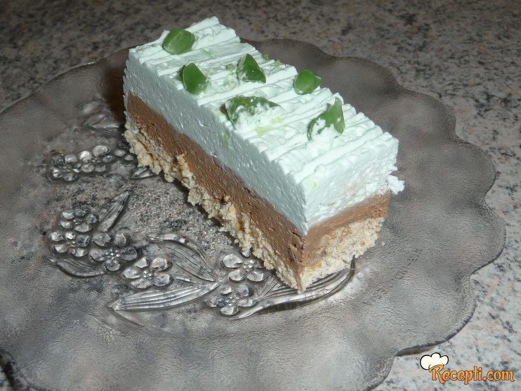 Oljina mint torta