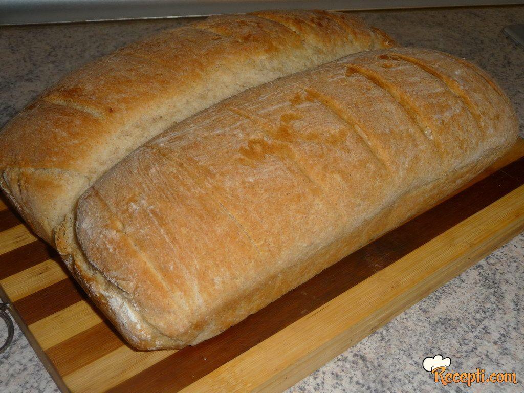 Domaći crni hleb (2)