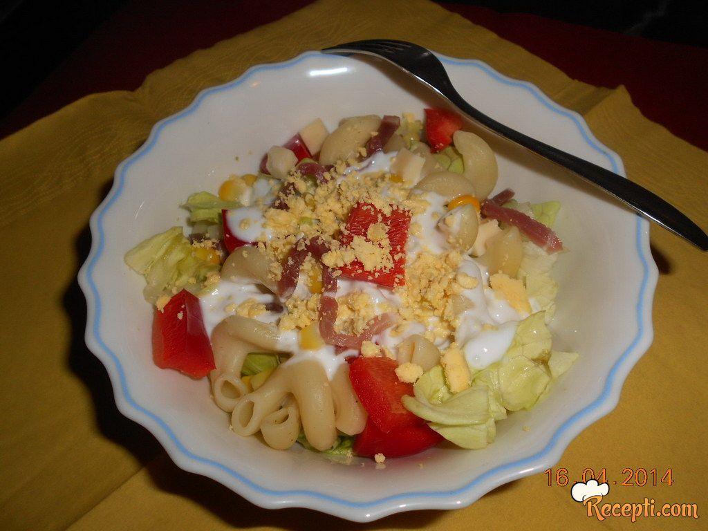 Spirala šarena salata