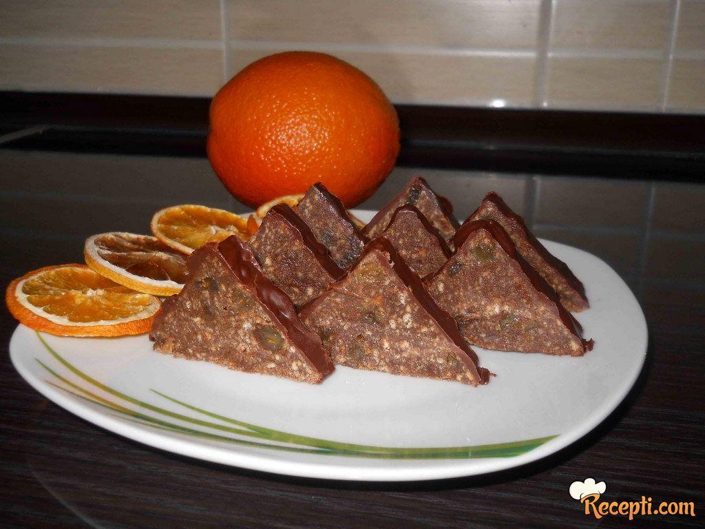 Orange toblerone