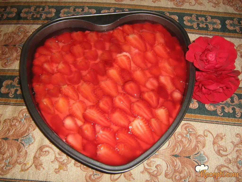 *Srce* sa jagodama