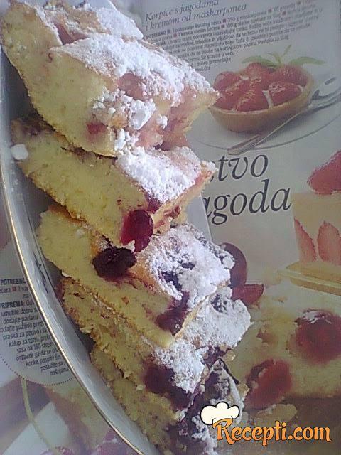 Brzi voćni kolač (2)