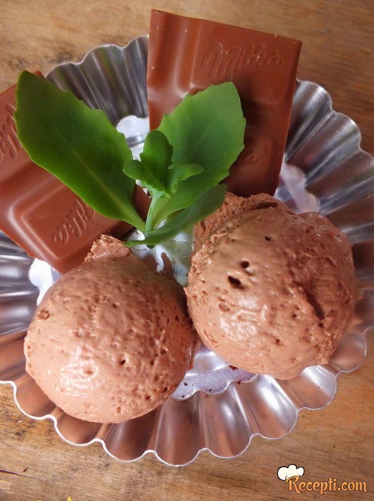 Super fini sladoled od čokolade