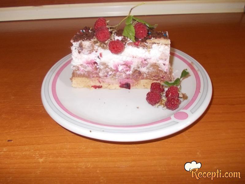 Voćna sladoled torta
