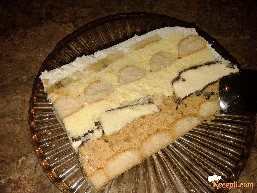 Bananamen torta