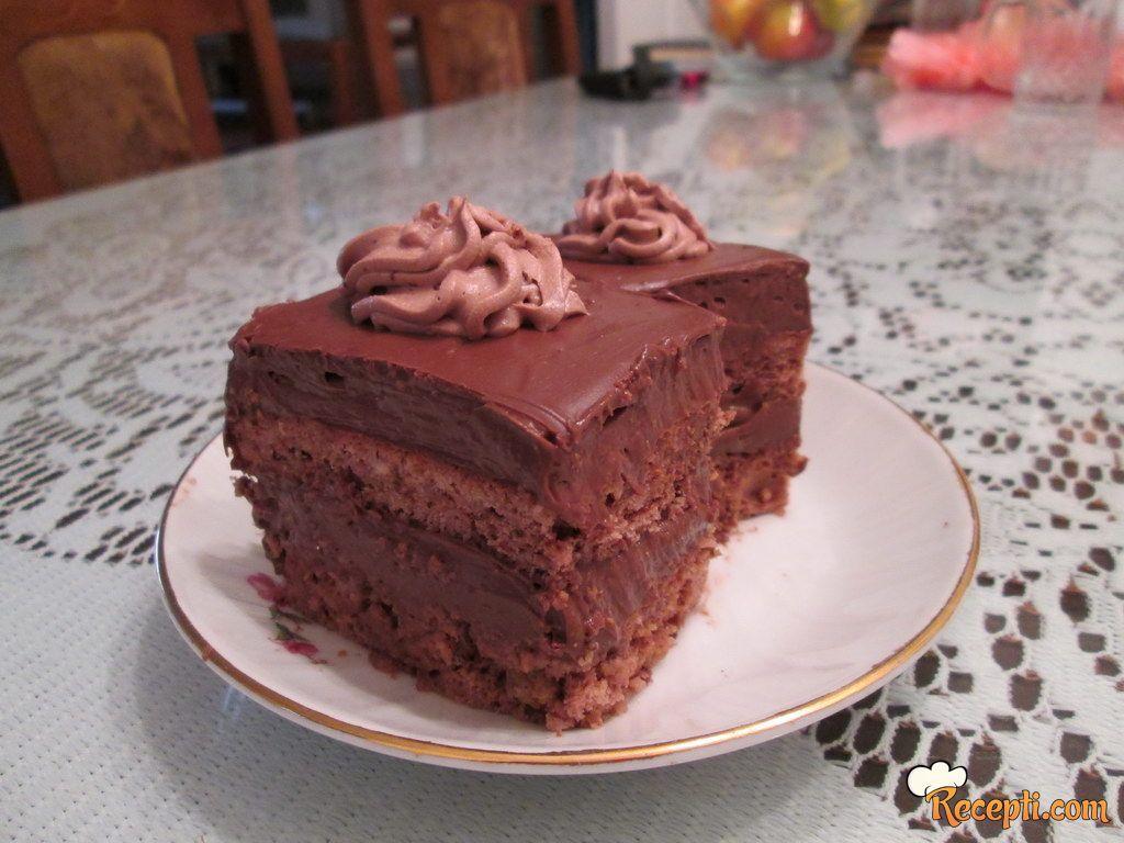 Pijani čokoladni kolač
