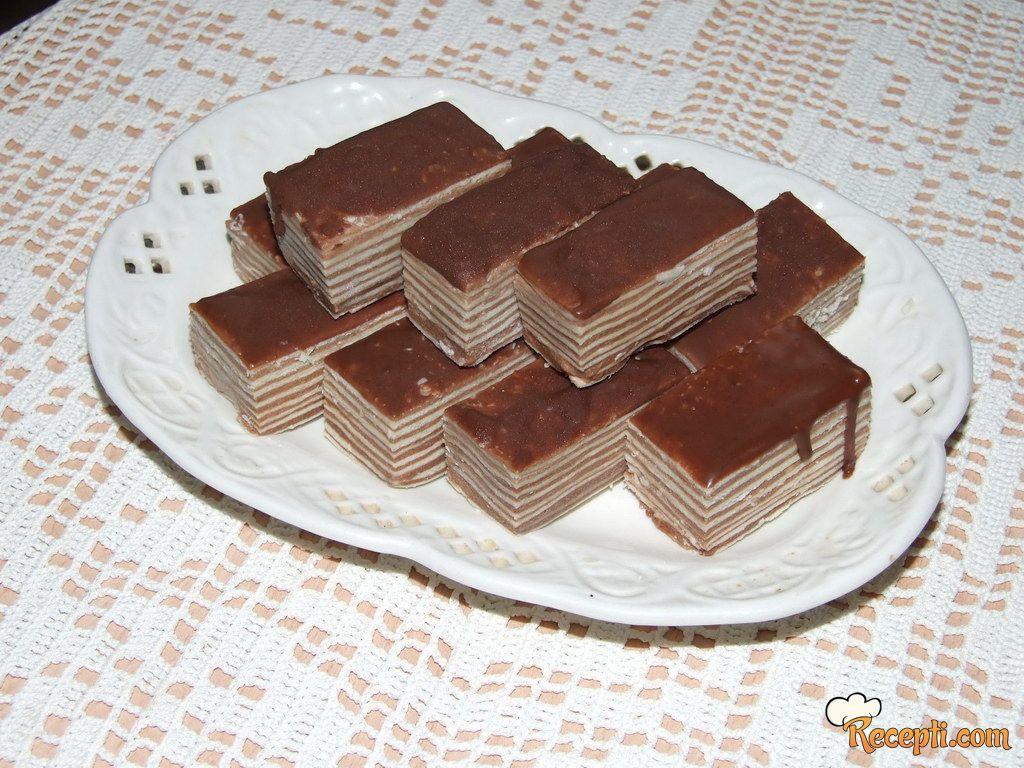 Čokoladna torta sa rozen koricama