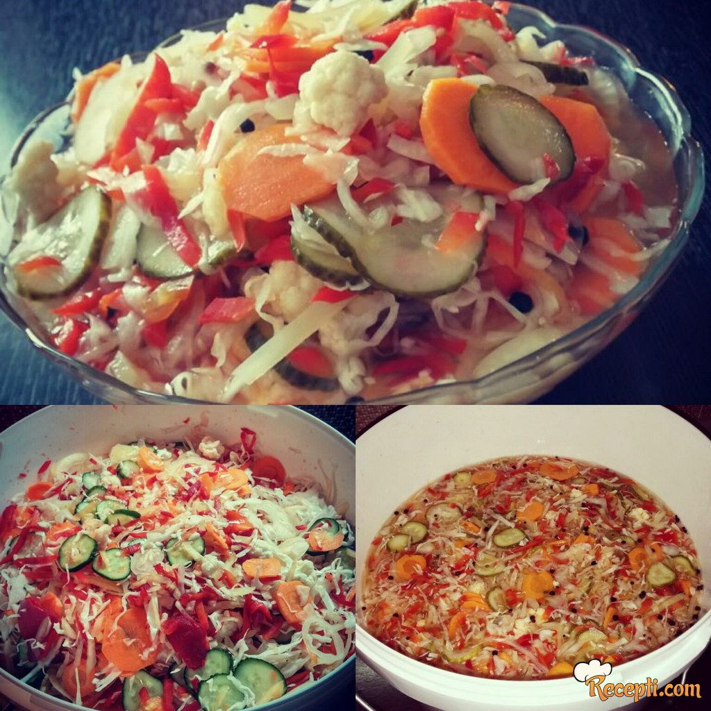 Mešana/rezana salata