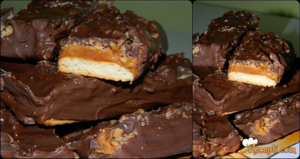 Karamel-kikiriki čokoladice