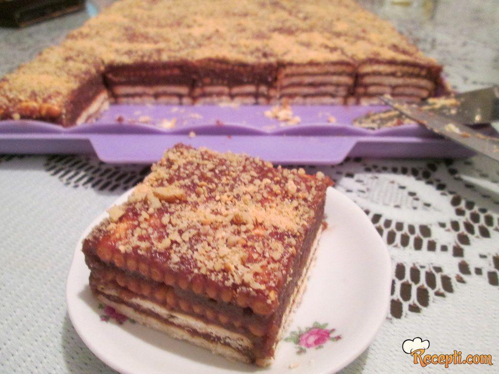Ljubinkina keks torta