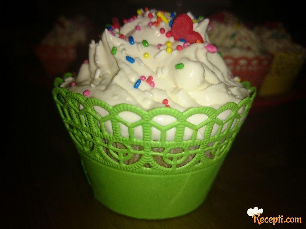 Vanila-limun cupcakes