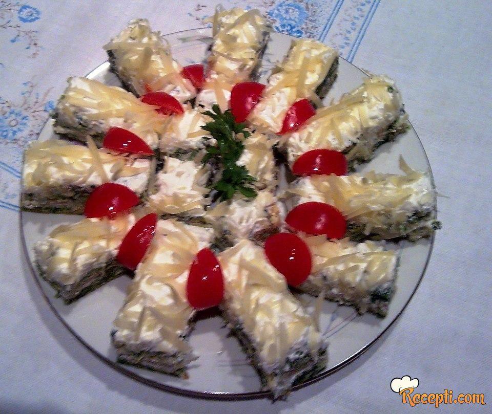 Torta od spanaća