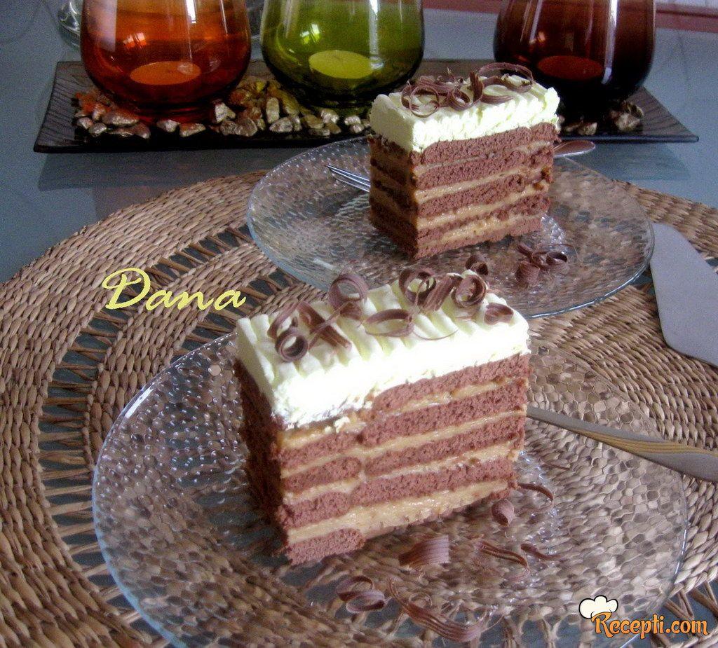 Karamel keks torta