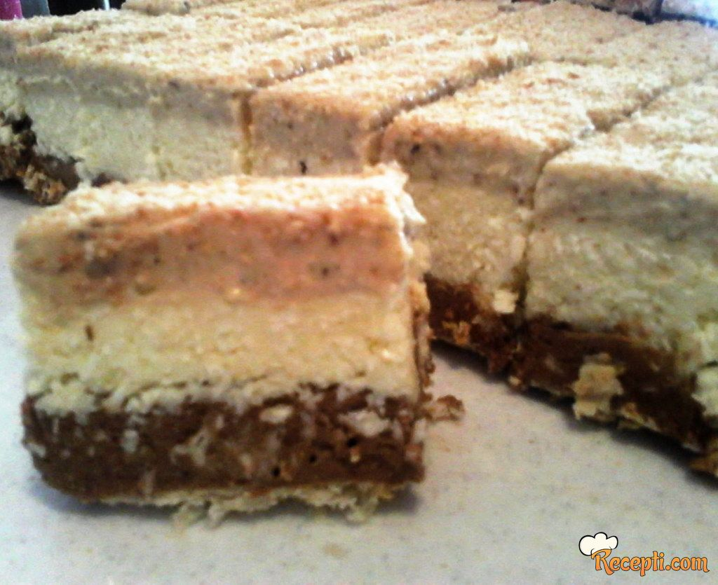 Posna pijesak torta