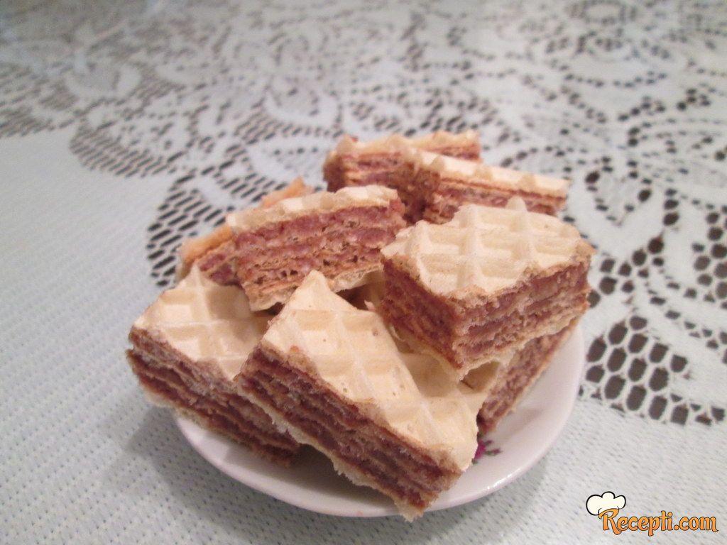 Brze oblande (čokolada, kokos)