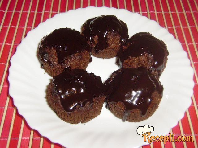 Mafini sa čokoladom i kokosom