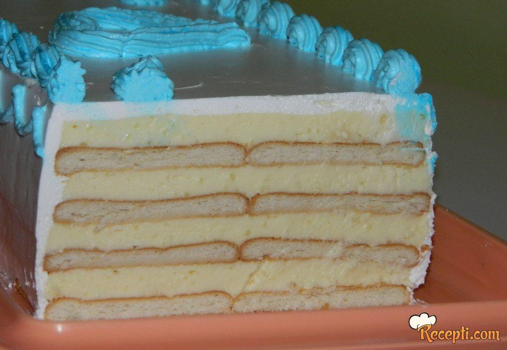 Brza torta sa keksom