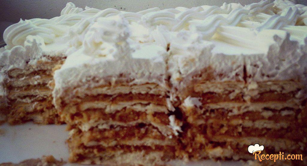 Alva torta posna