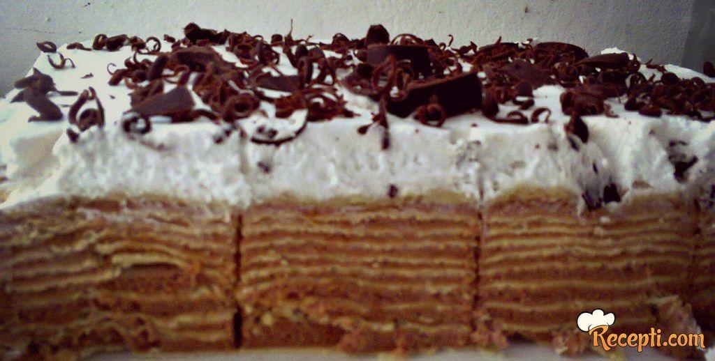 Posna Čoko moko torta