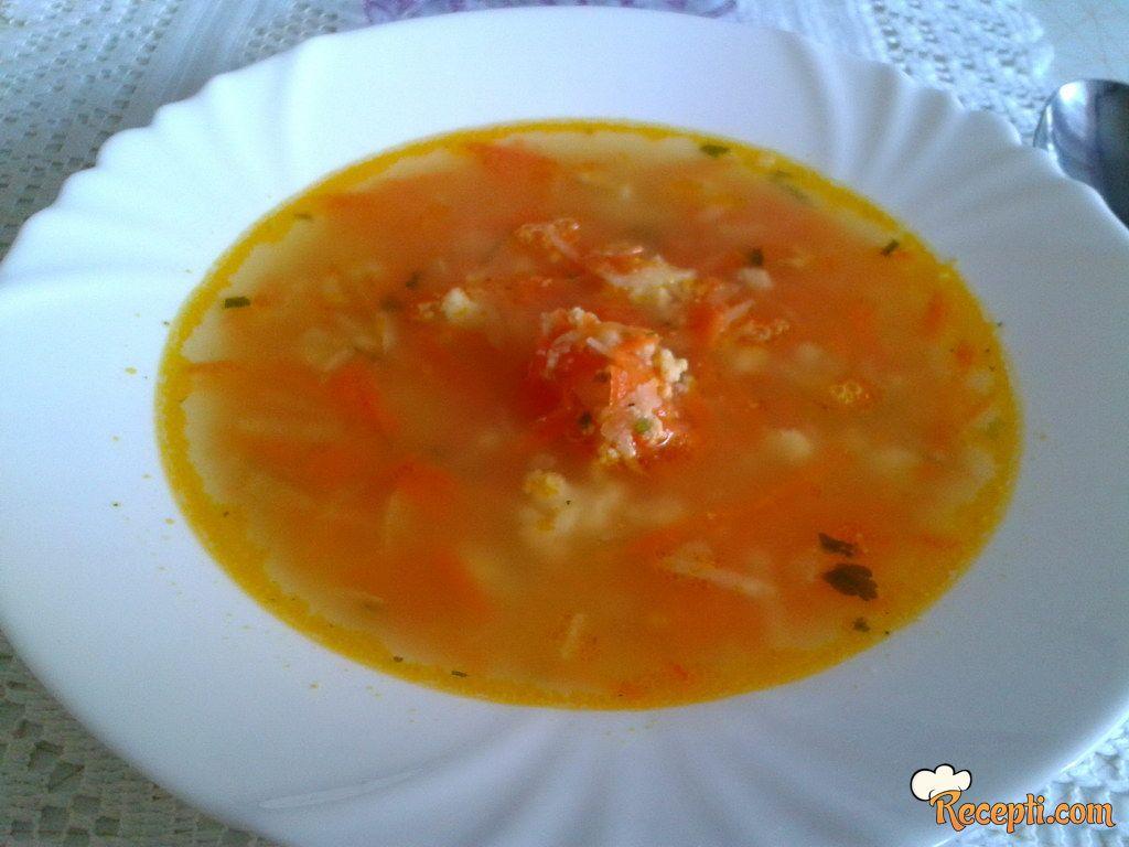 Čorba od šargarepe (2)