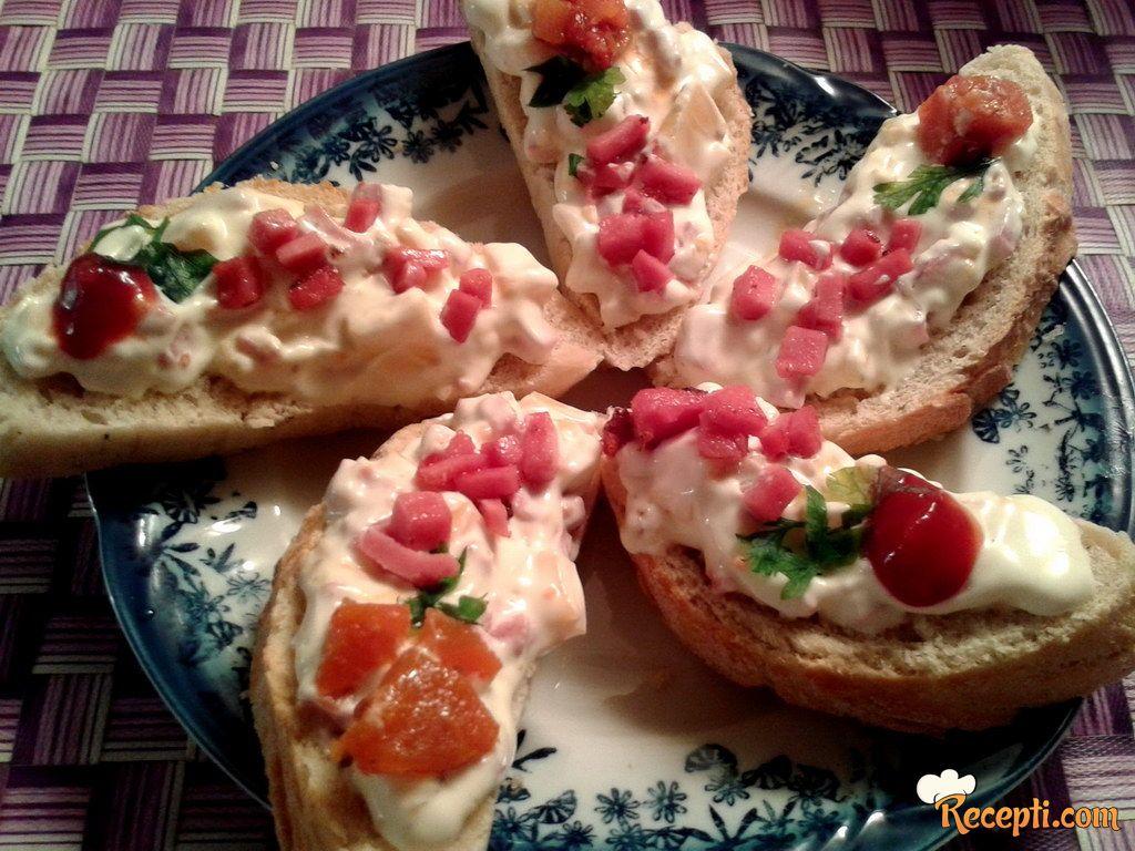 Salama namaz za francuski hleb