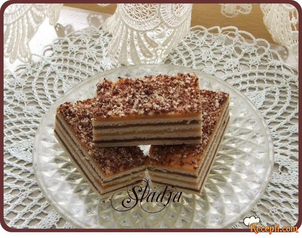 Čokoladno-Karamel kolač (2)
