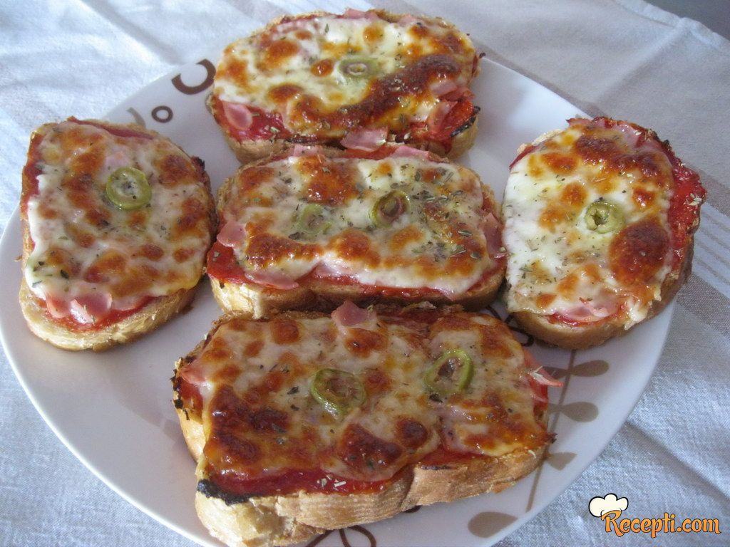 Hleb-pizza