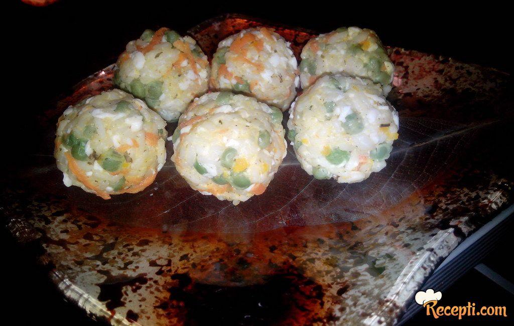 Kuglice od pirinča