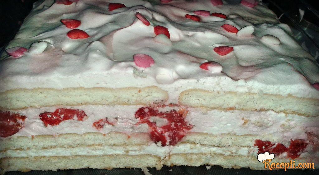 Jogurt-višnja torta