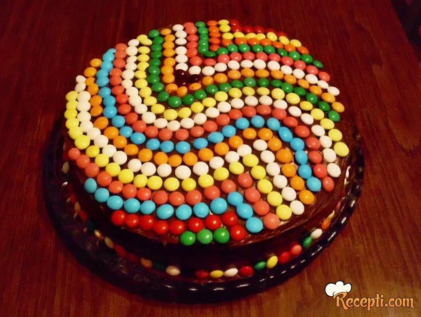Čokoladna kremasta torta