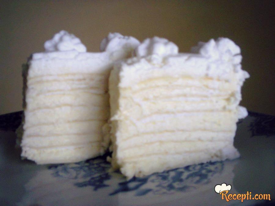 Torta sa belom Milkom