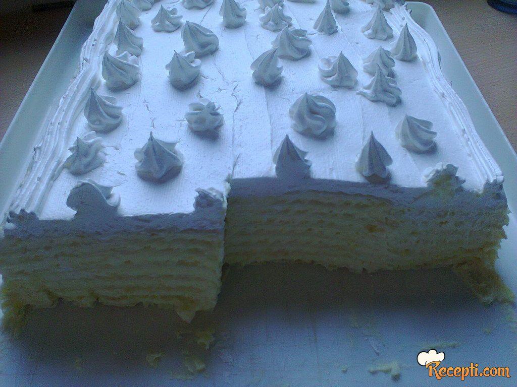 Mamina bela torta