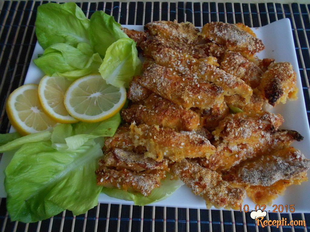 Pečena krckava piletina