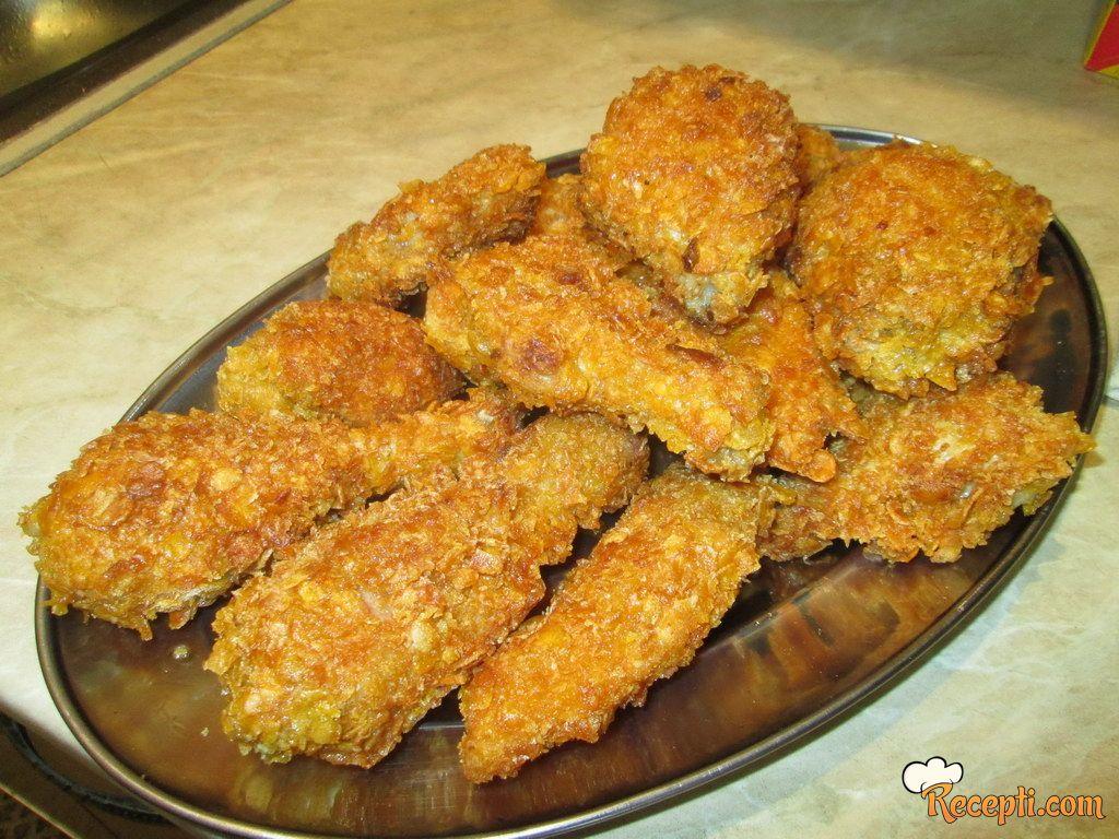 Piletina u kornfleksu