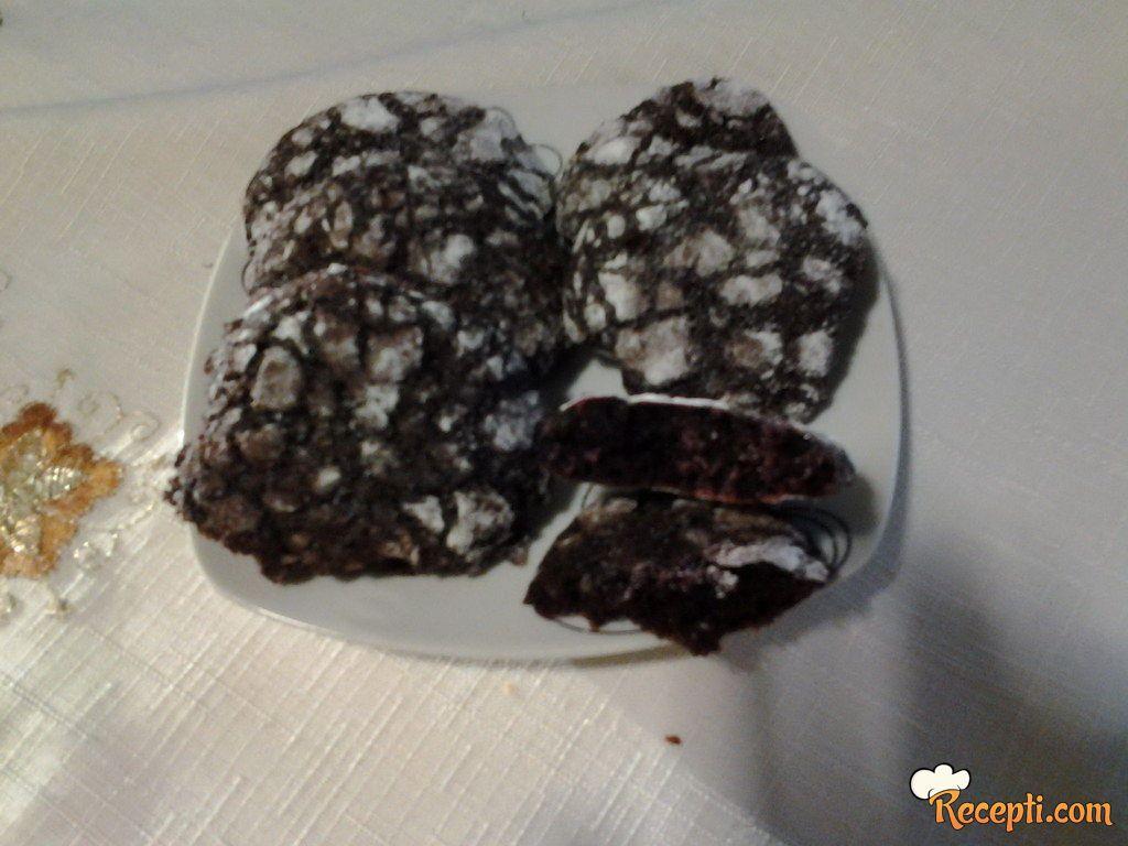 Choco crinkles