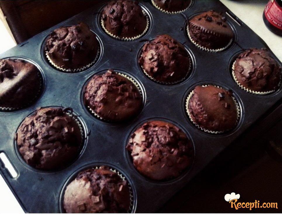 Mafini sa čokoladom (3)