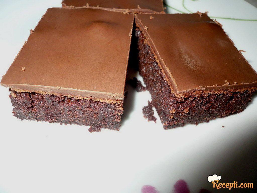 Čokoladne kocke bez brašna