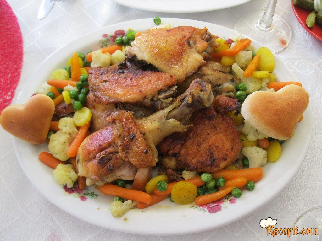 Piletina na Provansa mix-u